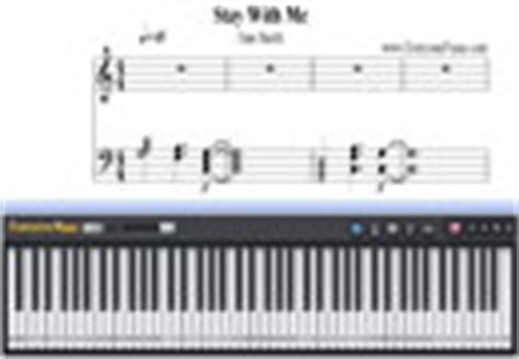 tutorial keyboard stay with me stay with me sam smith free piano sheet music piano chords