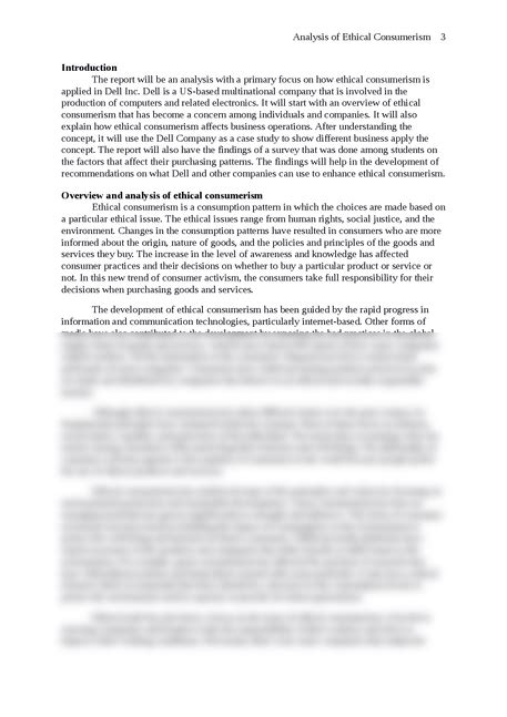 Consumerism Essay by Analysis Of Ethical Consumerism Essay Brokers