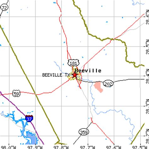 map of beeville texas beeville texas tx population data races housing economy