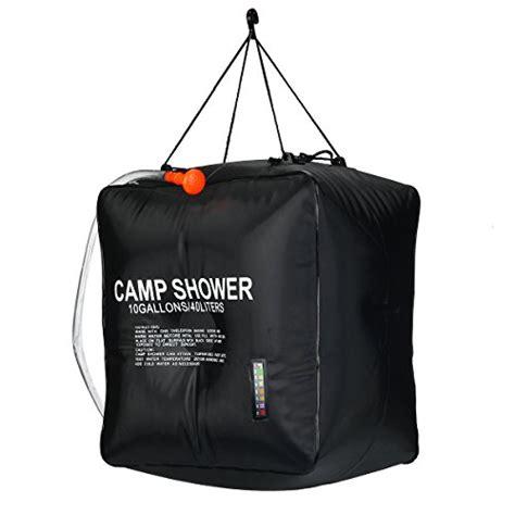 shower bag solar shower bag risepro 10 gallons 40l solar heating