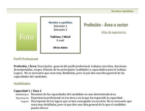 Plantilla De Un Curriculum Funcional 100 Modelos Y Plantillas De Curr 237 Culum Vitae Para Descargar Gratis En Word Cursosmasters