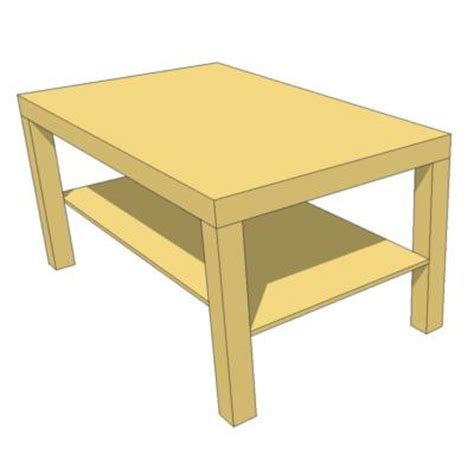 Ikea Lack Coffee Table Dimensions Lack Coffee Table 3d Model Formfonts 3d Models Textures