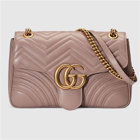 Tas Gucci Gg Marmont Matelasse Shoulder Bag Mirror Qual Berkualitas gg marmont matelass 233 shoulder bag gucci s shoulder bags 443496drw3t5729