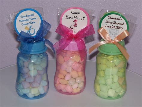 Edible Baby Shower Favors To Make Yourself by Baby Shower Favors To Make Yourself Baby Bottle Gifts