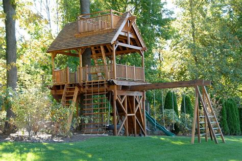 treehouse for backyard treehouses for kids for a surprise gift homestylediary com