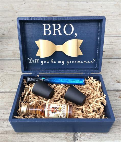 best box ideas best groomsmen gift boxbest boxgroomsman boxbridal