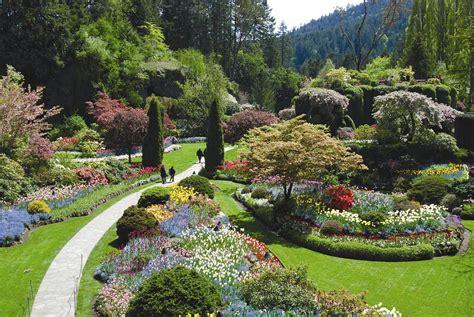 Gardens Canada by Travel Trip Journey Butchart Garden Canada