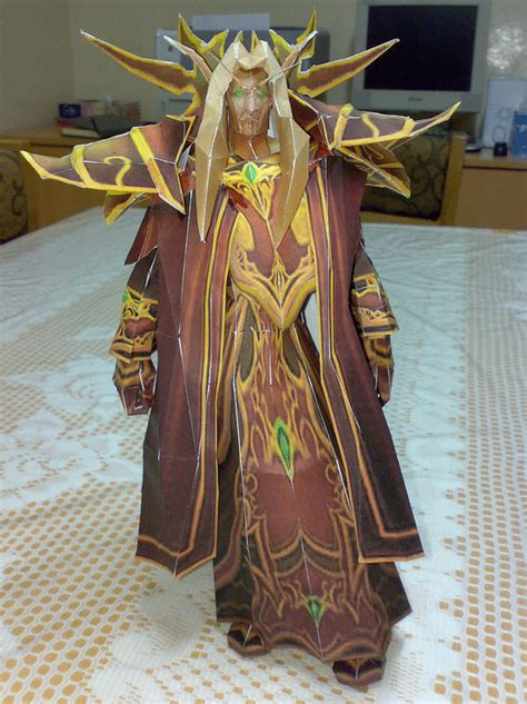 Wow Papercraft - wow papercraft figuras do world of warcraft de papel