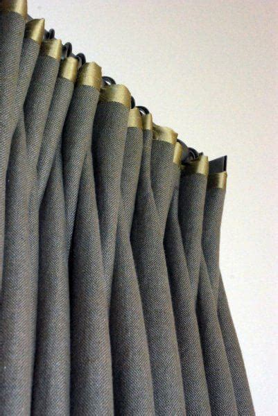 drapery trims contrasting textures give life to window treatments