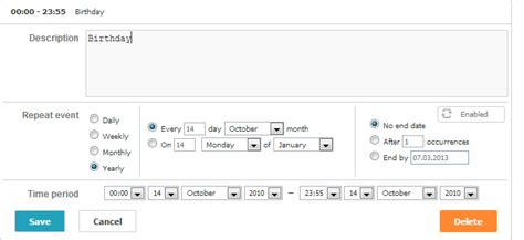 date format supported by javascript recurring events scheduler docs