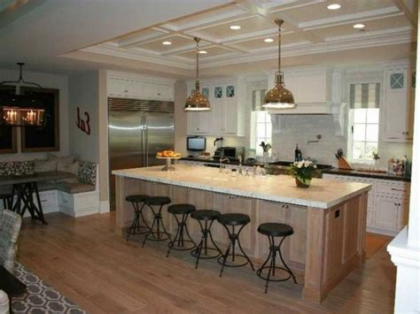 photos of kitchen islands with seating 18 compact kitchen island with seating for six ideas