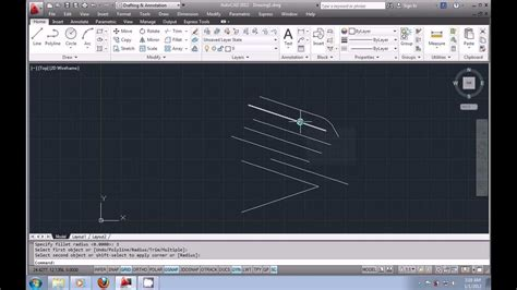 autocad tutorial with commands autocad 2012 urdu tutorial part2 using the modify