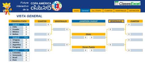 Calendario Copa America 2015 Pdf Calendario America 2015 New Calendar Template Site