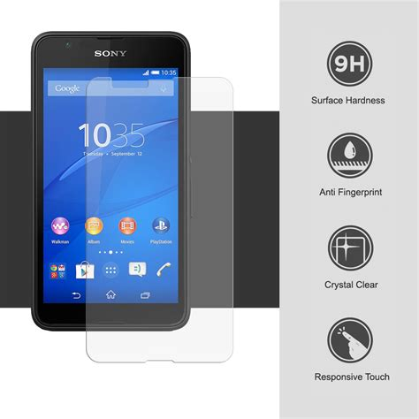 My User Tempered Glass Xperia E4 Clear 9h tempered glass screen protector sony xperia e4g clear