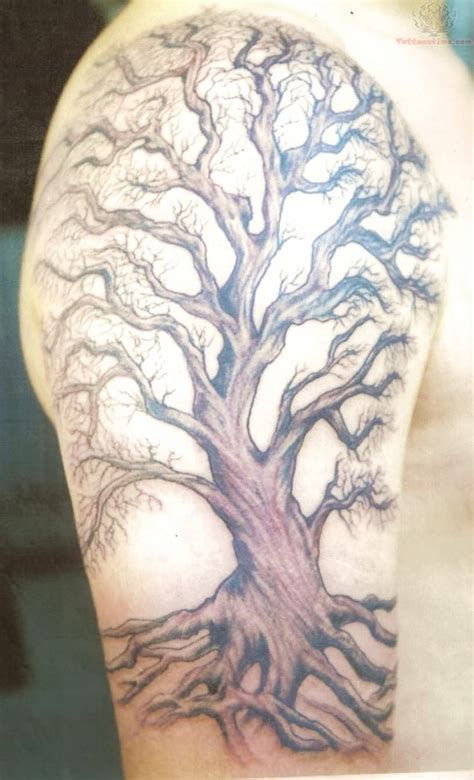 big time tattoos big tree on sleeve