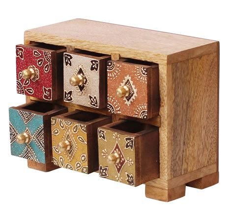 wholesale wooden color chest of drawers for dining room source wooden jewelry box with 6 chest drawers in bulk