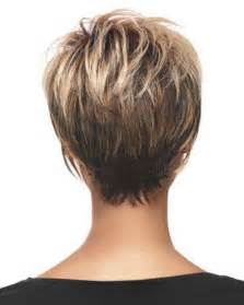 wedge haircuts front and back views haircut short hairstyles back view