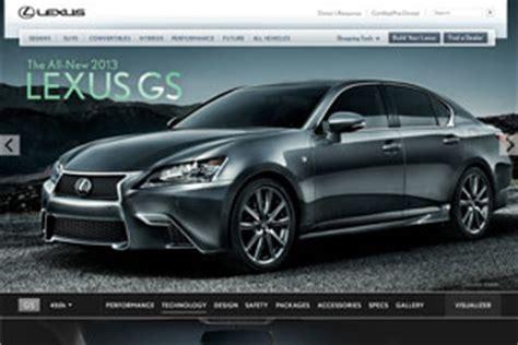 lexus usa website updated with 2013 gs lexus enthusiast