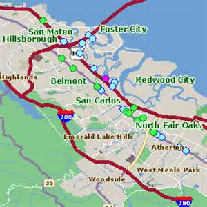 where is san carlos california in the map san carlos ca pictures posters news and on your