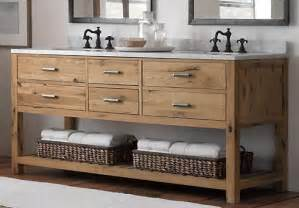 wood bathroom vanities weathered wood bathroom vanities for a cottage style