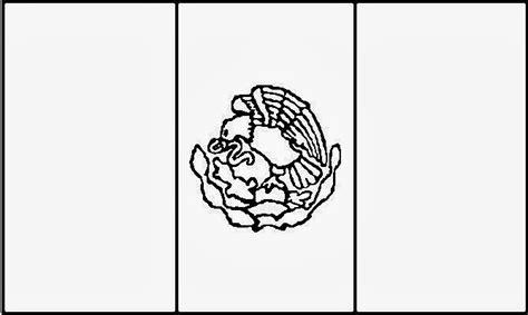 escudo bandera de mexico para colorear nocturnar m 233 xico bandera colorear imagui