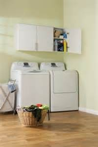 White Wall Cabinets For Laundry Room Prepac Elite Garage Laundry Room 54 Inch Wall Cabinet In White