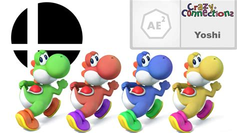 yoshi colors the history and origins of yoshi s colors in smash bros