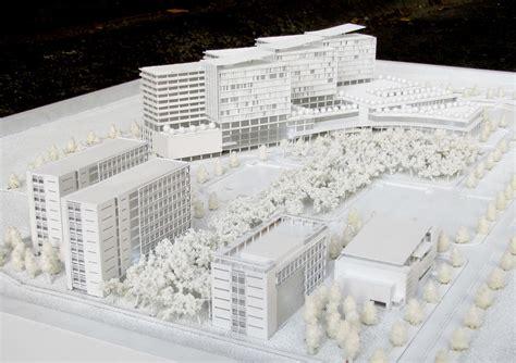 hospital design proposal binh duong hospital design concept model on behance