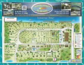 rv parks florida map site map yellow jacket rv resort