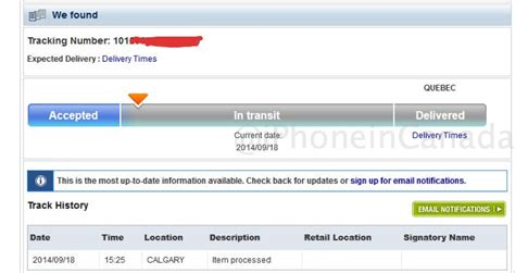 first iphone 6 pre orders shipping in canada as ups first telus iphone 6 pre orders ship via canada post