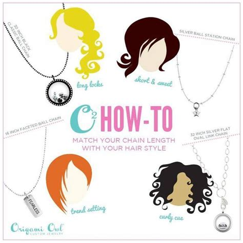 Origami Owl Chain Lengths - best 39 origami owl chains images on other