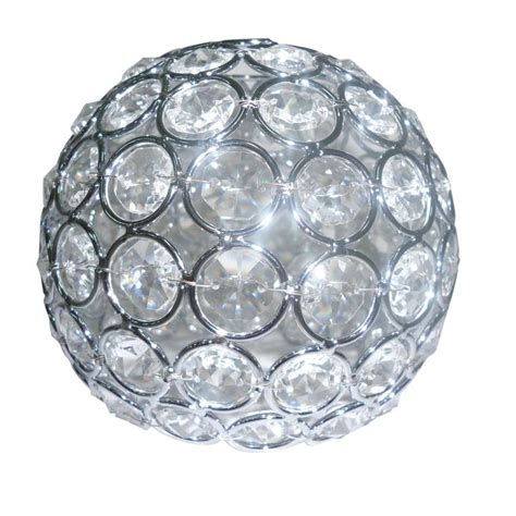 bathroom vanity light globes shop style selections ladura 4 in h 4 75 in w chrome crystal globe vanity light shade