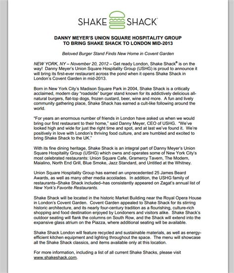 restaurant press release template burger me a burger burger news guide to