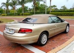 2004 Chrysler Sebring 2004 Chrysler Sebring Pictures Cargurus
