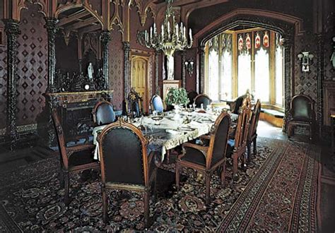 gothic dining room adapting renaissance era style into our room interior