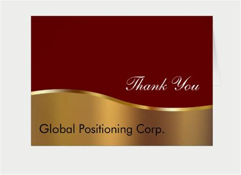 Professional Thank You Card For Template by 11 Professional Thank You Cards Design Trends Premium