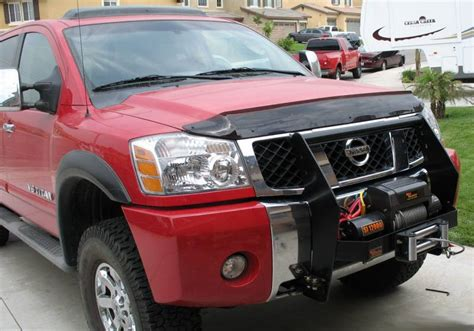 nissan frontier winch mount 4x4 parts titan winch mount grille guard apmm5050064