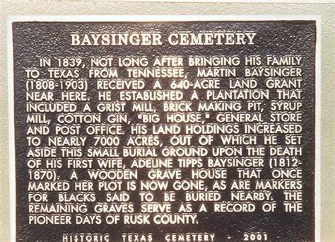 Rusk County Divorce Records Baysinger Cemetery