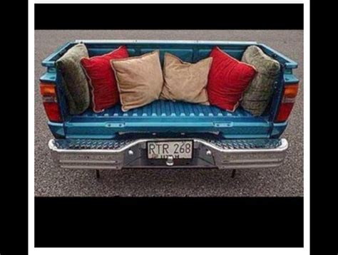 tailgate sofa image gallery truck couch