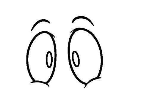 imagenes ojos para colorear dibujo de ojos humanos para colorear dibujos net