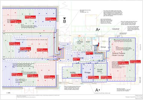 layout for underfloor heating underfloor heating pipe layout underfloor heating systems