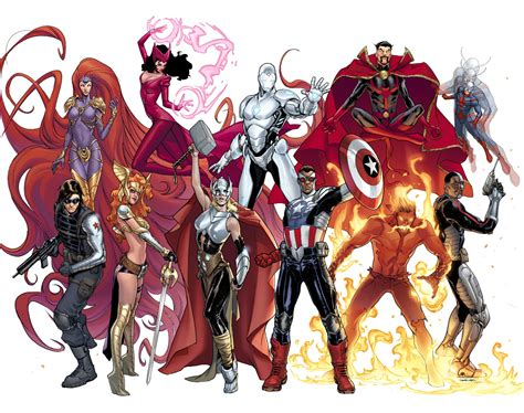 gli illuminati marvel marvel characters changing with now
