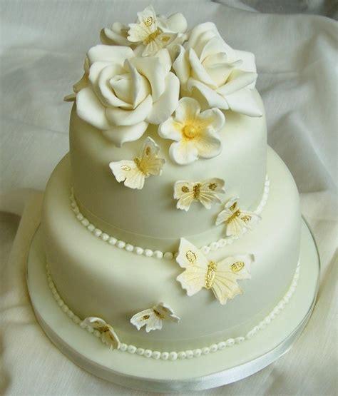 Golden Wedding by Golden Wedding Cake Cakecentral