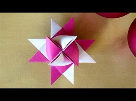 Sterne Basteln Aus Papierstreifen by Fr 246 Belstern Basteln Weihnachtssterne Basteln Mit Papier