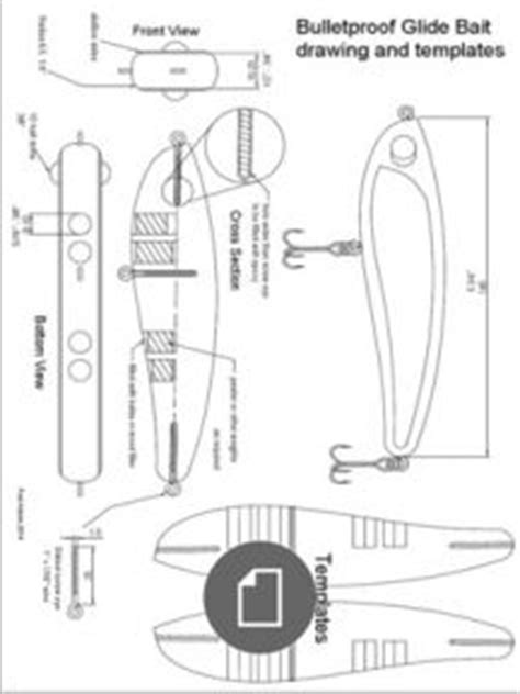 fishing lure templates pdf hoosier fishing lure information item template fishing