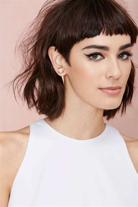 the 25 best short blunt haircut ideas on pinterest short fringe haircut haircuts models ideas
