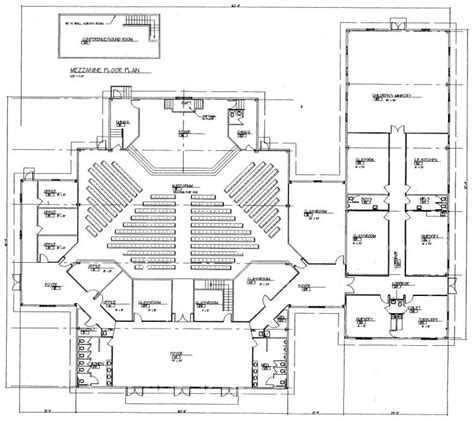 floor plans for churches church plan 150 lth steel structures