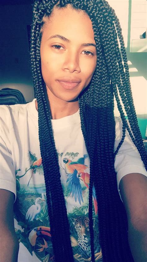 skinny cornrows small box braids skinny box braids hairstyles long box