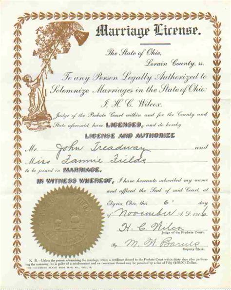 Marriage Records Ohio Yellowstone County Montana Records