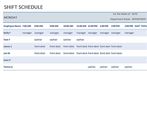 availability schedule template excel free employee weekly availability form autos post